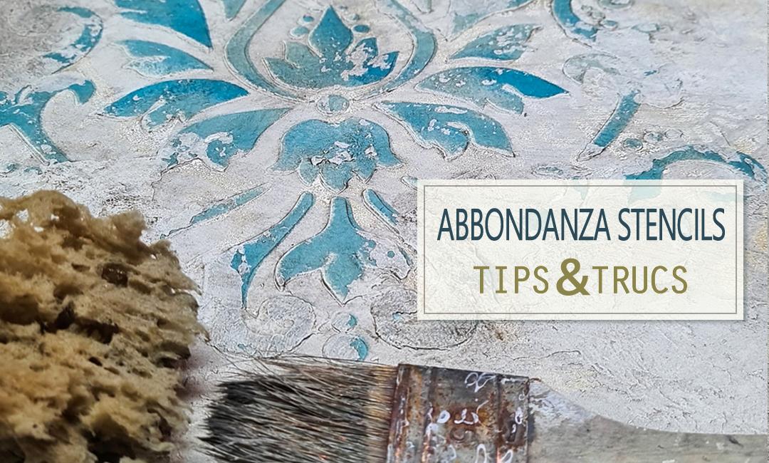 Abbondanza Stencils Tips & Tricks