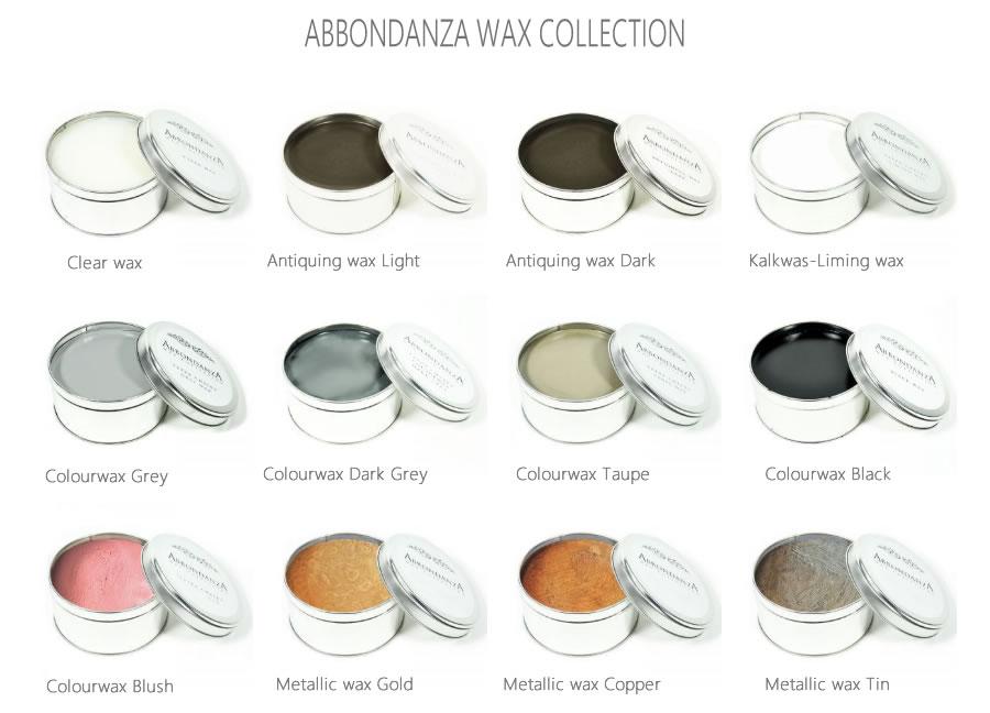 Abbondanza Wax kleuren